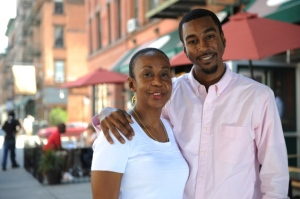 Chef Brenda Beener and her son Aaron will be opening Seasoned Vegan in Harlem in August. First, they're trying to raise $20,000 to help pay their start-up costs.  Read more: http://www.nydailynews.com/new-york/uptown/meatless-nondairy-soul-food-style-restaurant-set-open-frederick-douglass-blvd-harlem-article-1.1091805#ixzz1xLQIO1fH