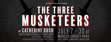 Three-Musketeers-Classical Theatre of Harlem - July 2017